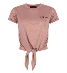 Lofty Manner Korte mouw T-shirts Zoey Roze
