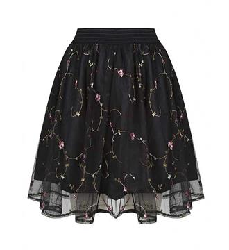 Lofty Manner Korte rokken Skirt kiara Zwart
