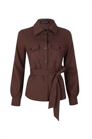 Lofty Manner Lange mouw blouses Jacket bibi