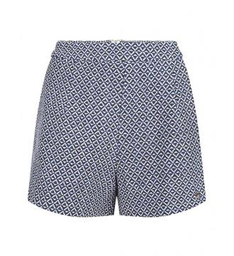 Lofty Manner Shorts Short indy Blauw dessin