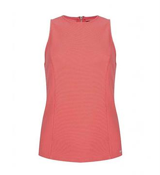 Lofty Manner Singlets Top cici Koraal rood