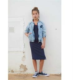 Looxs Denim jackets 811-5323-120 Bleached denim