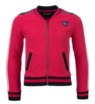 Looxs Fleece vesten 707-5319 Cherry red