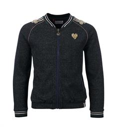 Looxs Fleece vesten 708-5348 Navy