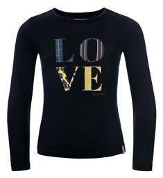 Looxs Lange mouw T-shirts 932-5441-175 Navy