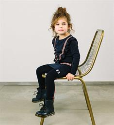 Looxs Little Korte jurken 831-7810-190 Navy