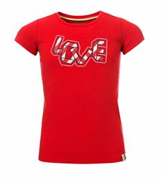 Looxs Little Korte mouw T-shirts 911-7402-273 Rood