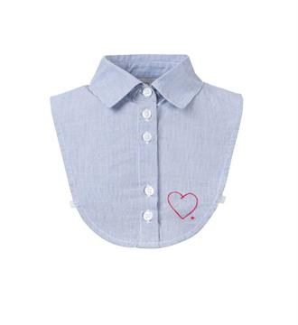 Looxs Mouwloze blouses 707-5000 Blauw dessin