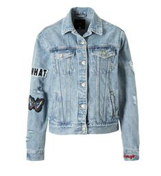 LTB Denim jackets Viva 26107 Light blue denim