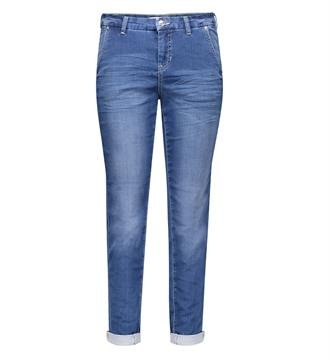 Mac 7/8 Broeken 2769 jog chino Medium blue denim