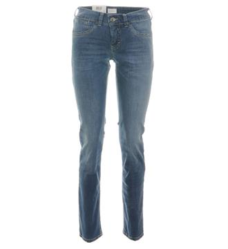 Mac Slim jeans 5954 carrie pip Blue denim