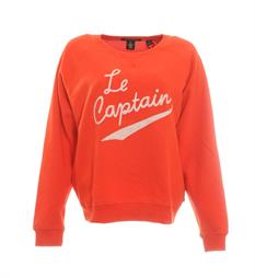 Maison Scotch Fleece truien 140966 Rood