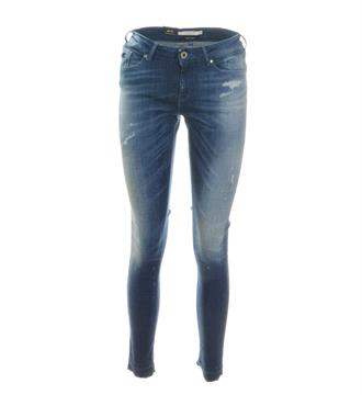 Maison Scotch Skinny jeans 138652 Blue denim