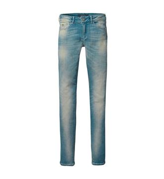 Maison Scotch Skinny jeans 138654 Blue denim