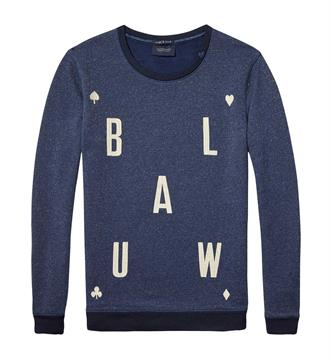 Maison Scotch Sweaters 138452 Blauw
