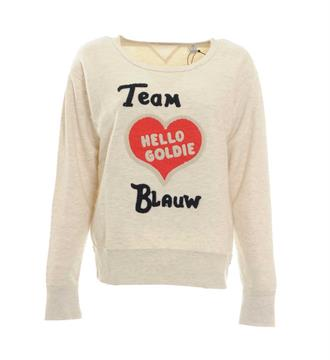 Maison Scotch Sweaters 138472 Grijs melee