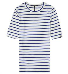 Maison Scotch T-shirts 137316 Ecru dessin