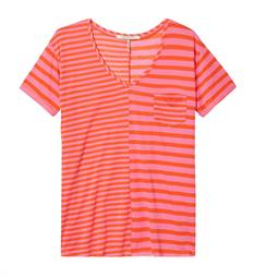 Maison Scotch T-shirts 137358 Roze dessin