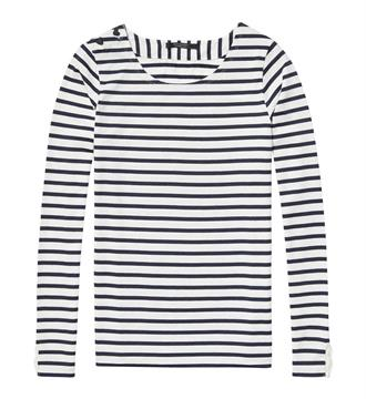 Maison Scotch T-shirts 138504 Blauw dessin