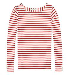 Maison Scotch T-shirts 138504 Rood dessin