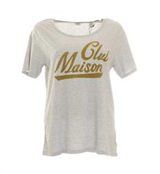 Maison Scotch T-shirts 140874 Grijs melee