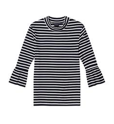 Maison Scotch T-shirts 141460 Blauw dessin