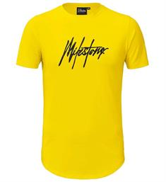 Malelions T-shirts Signature t-shi Geel