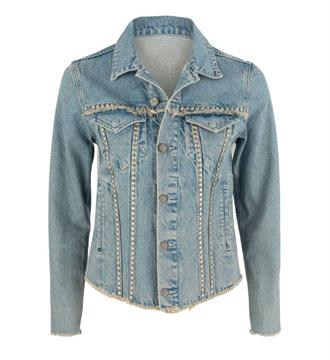 Mos Mosh Denim jackets 121990 brinson Light blue denim