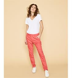 Mos Mosh Lange broeken 118180 abbey night pant Koraal