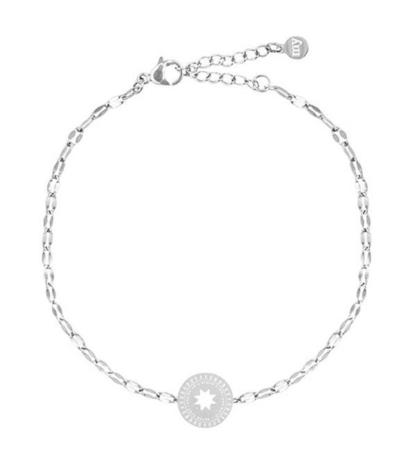 my-jewellery-armbanden-galaxy-bracelet-star-coin-zilver