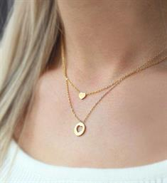 My Jewellery Kettingen Bff necklace heart Goud
