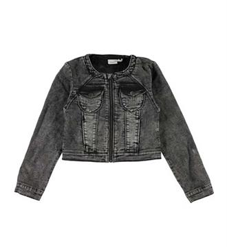 Name it Denim jackets 13149228 star e Black denim