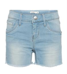 Name it Denim shorts 13153287 salli Bleached denim