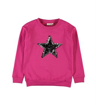 Name it Fleece truien 13154441 rimone Pink