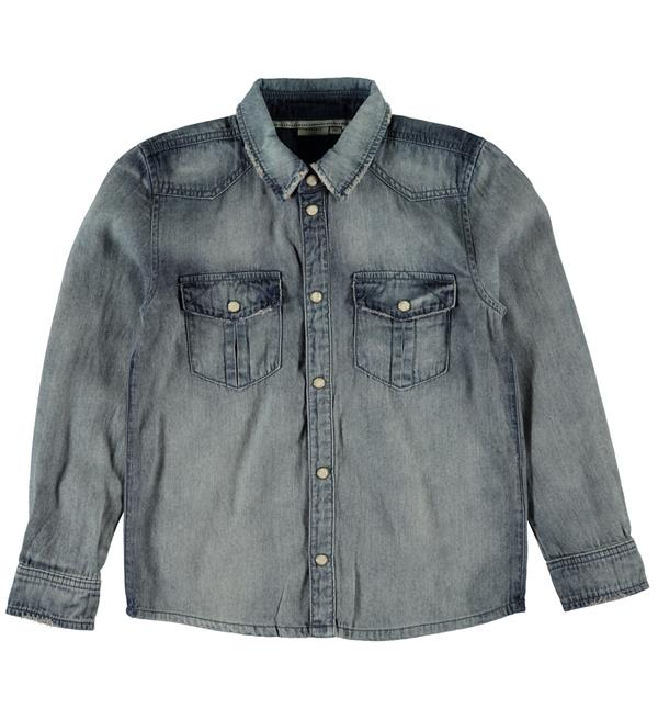 name-it-lange-mouw-blouses-13139512-blue-denim