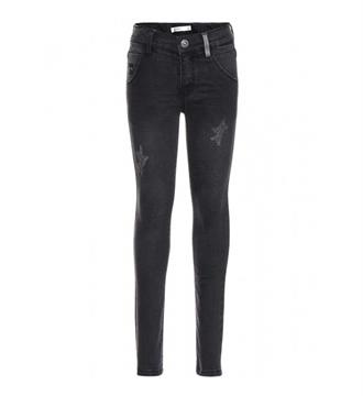 Name it Skinny jeans 13142241 trap Black denim