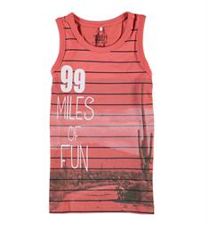 Name it Tanktop 13158527 kine Rood dessin