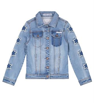 Nik and Nik Denim jackets G4-410 eefje de Blue denim