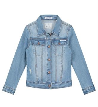 Nik and Nik Denim jackets G4219 evelien d Blue denim