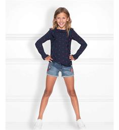 Nik and Nik Denim shorts G2-407 femke Blue denim