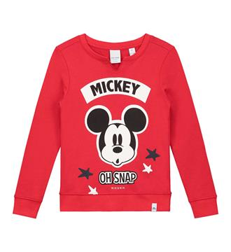 Nik and Nik Fleece truien G8-490 mickey s Rood
