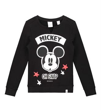 Nik and Nik Fleece truien G8-490 mickey s Zwart