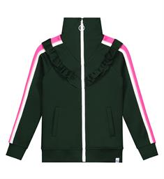Nik and Nik Korte jasjes G8-030 1904 lucky trackjacket Groen