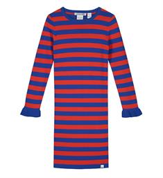 Nik and Nik Korte jurken G7-018 1904 jolie stripe dress Rood