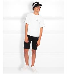 Nik and Nik Korte mouw T-shirts B8-939 1904 mylo t-shirt Off-white
