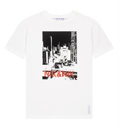 Nik and Nik Korte mouw T-shirts B8-950 1904 manhattan t-shirt Wit