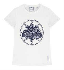Nik and Nik Korte mouw T-shirts G8-012 1904 connection t-shirt Off-white