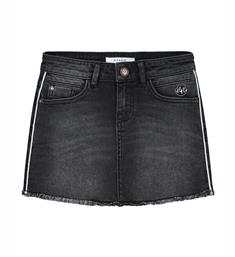 Nik and Nik Korte rokken G3-828 celia Black denim