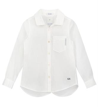 Nik and Nik Lange mouw blouses G6-524 olga Off white