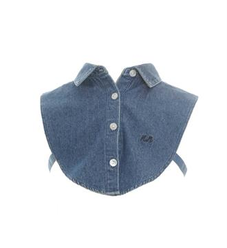 Nik and Nik Mouwloze blouses Blue denim